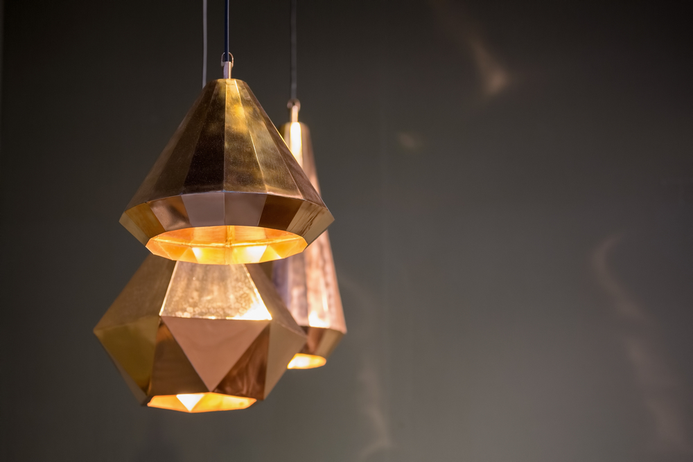 luminaire métallique